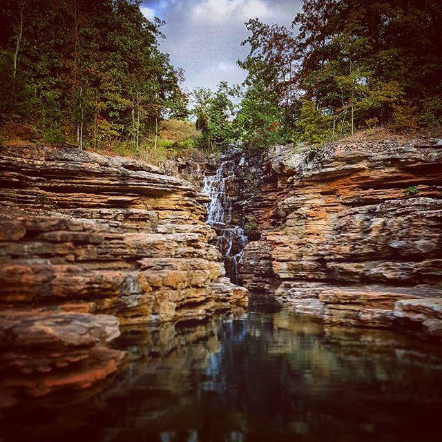 Branson waterfall