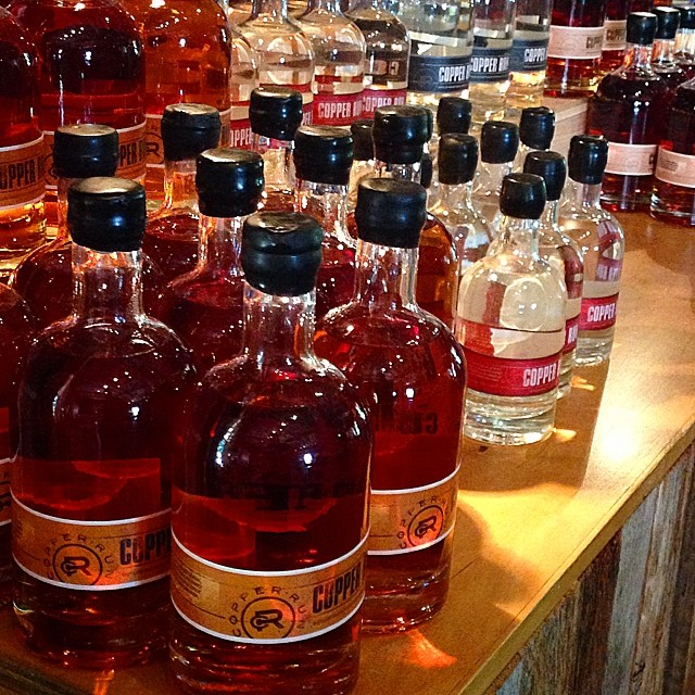 Branson's Copper Run whiskey