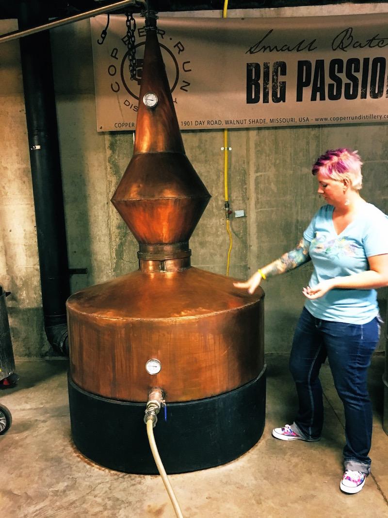 Copper Run Distillery Tour