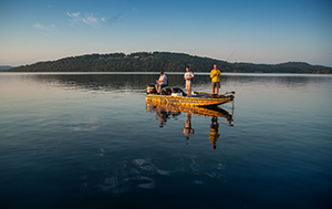 Fishing on Table Rock Lake. Photo Credit: Bob Linder