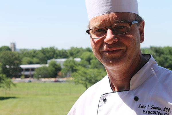 Chef Robert Stricklin of the Keeter Center