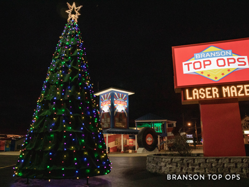 Christmas Tree on America's Christmas Tree City's Tour