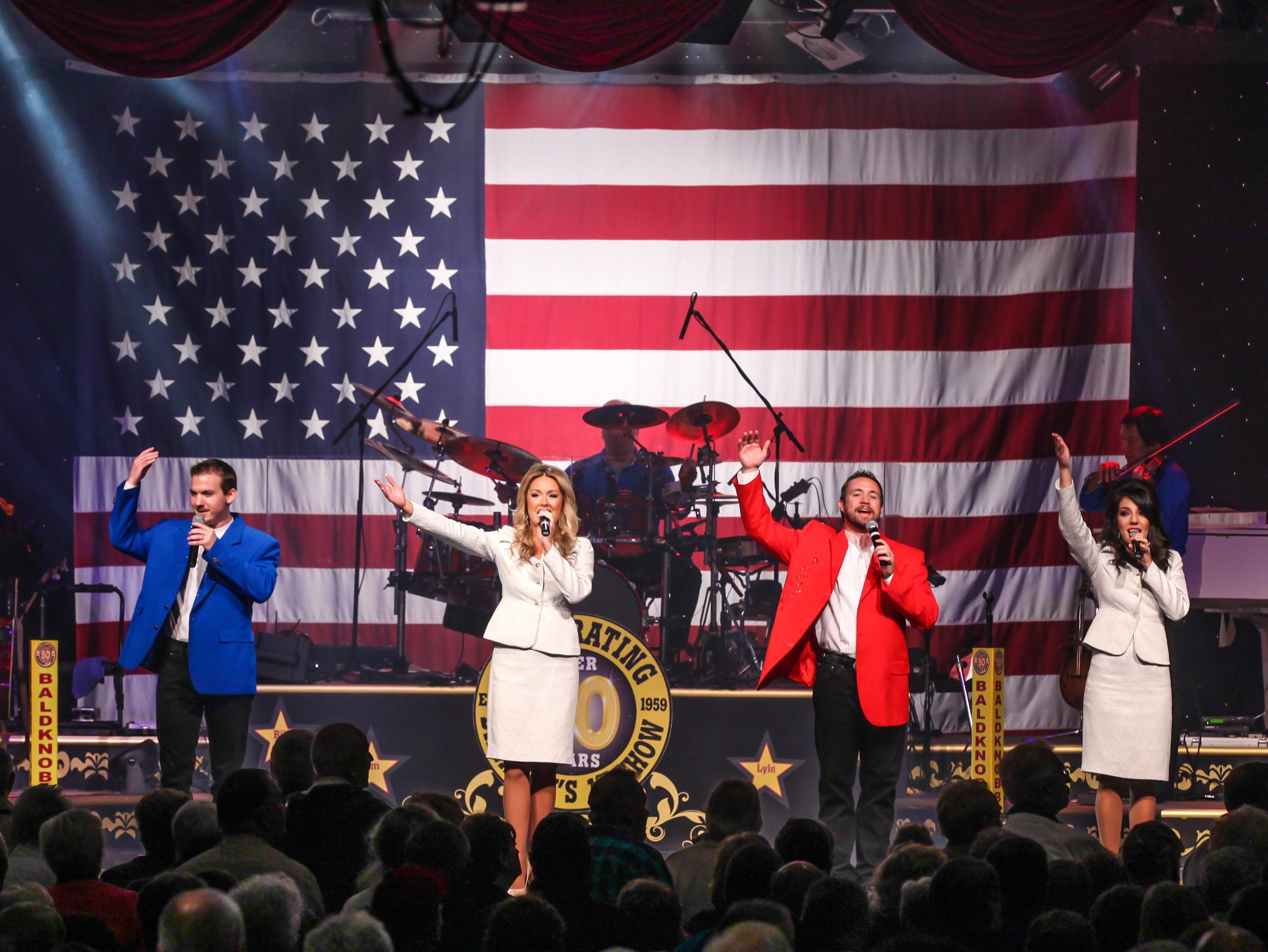 Patriotic Tribute Show in Branson