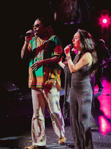 Stevie Wonder tribute live show performer in Branson.
