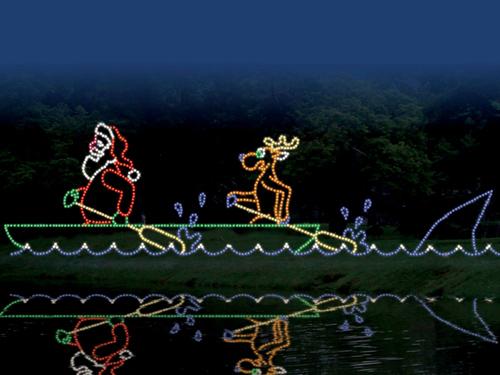 Drive Thru Christmas Lights.Drive Through The Christmas Lights In Branson