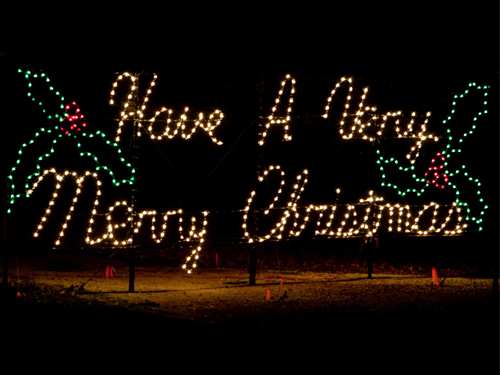 Have A Very Merry Christmas LED Christmas sign