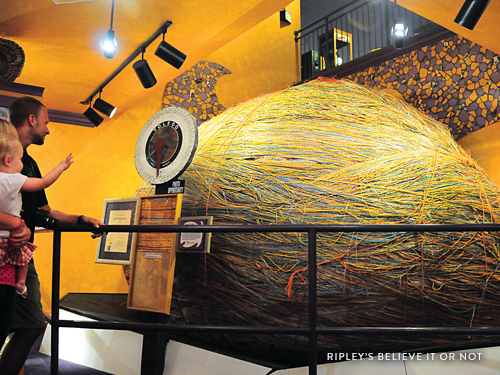 World's largest ball of yarn found in a museum in Branson.