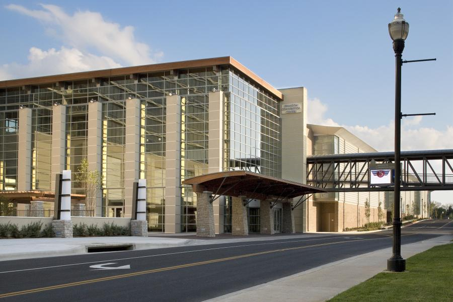 Exterior photo of Branson Convention Center.