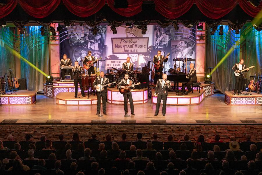 Presleys' Country Jubilee on stage in Branson.