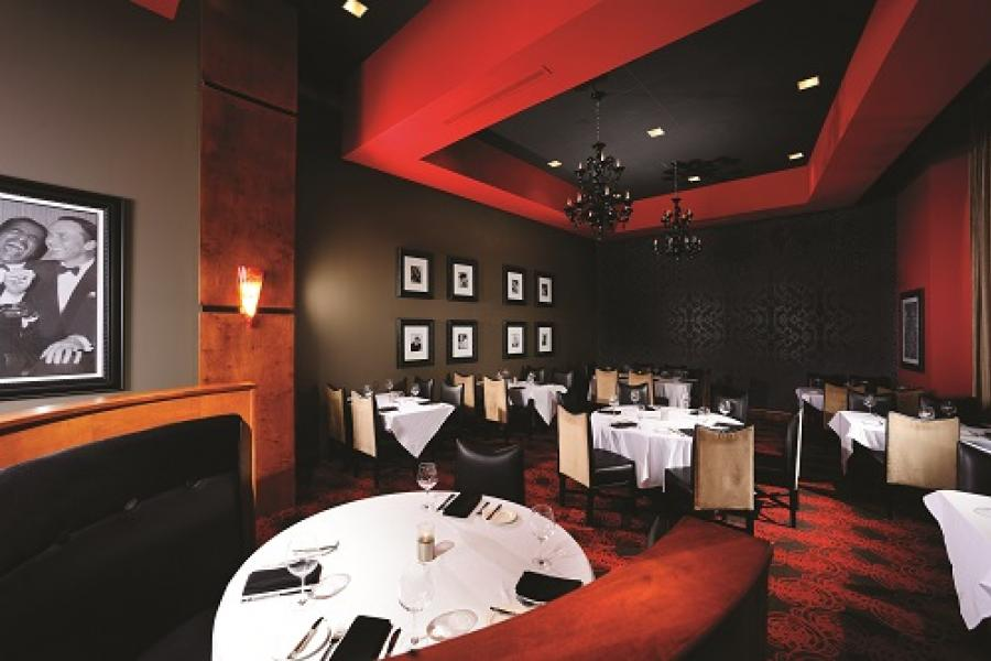 level 2 steakhouse interior branson
