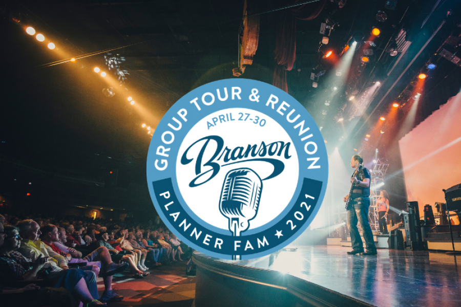 branson fam tour logo and show photo