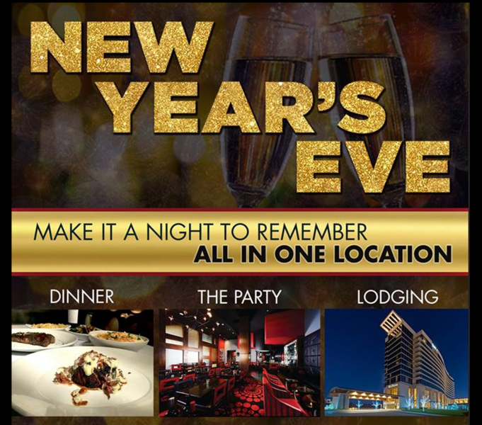 New Year's Eve at the Hilton