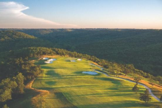 Payne's Valley Golf Course in Branson