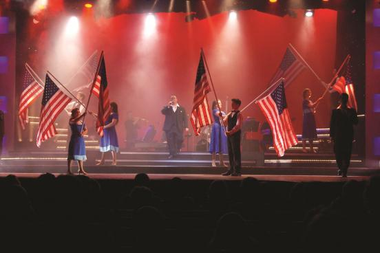 Patriotic Tribute Show in Branson