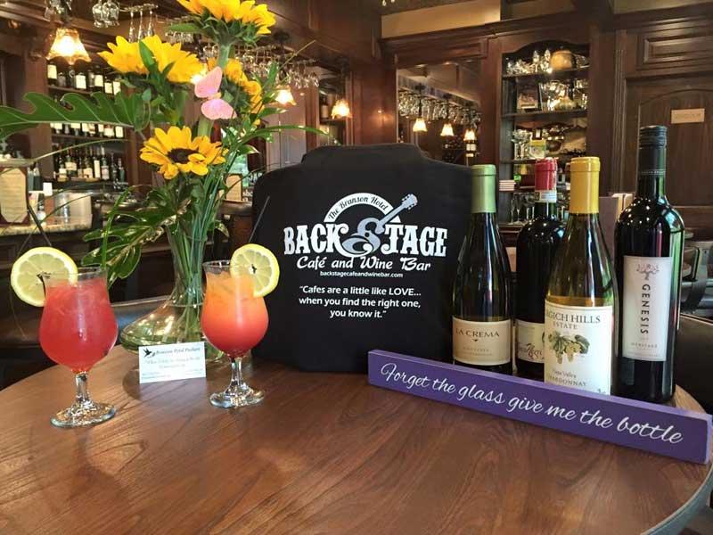 Backstage Cafe Wine Bar